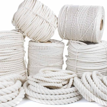 Good quality  braided cotton rope trade price