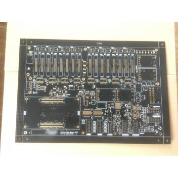 2 layer 0.1mm holes laser drill PCB
