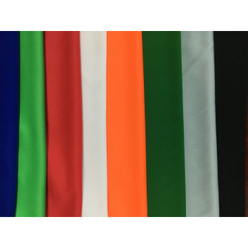 100% polyester plain dyed knitted interlock fabric