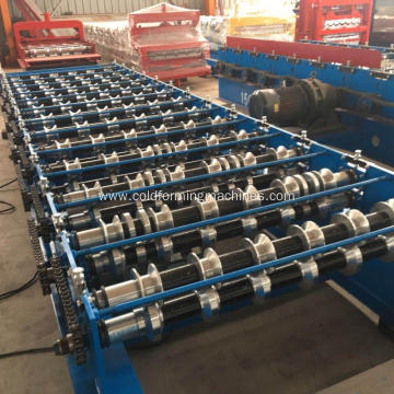 Hydraulic Galvanized Roofing Roll Forming Machine