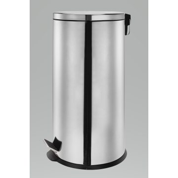 Round Shape Stainless Steel Garbage Can