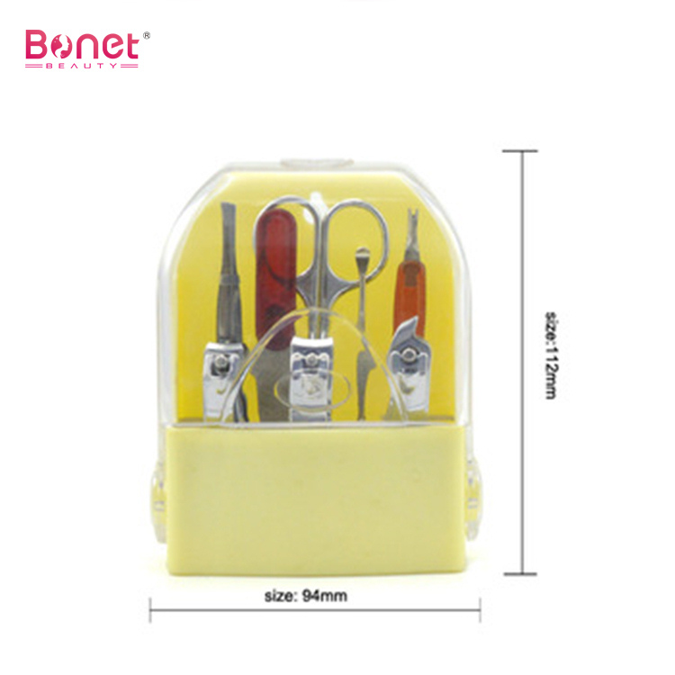 8pcs Grooming Case Travel Manicure Set