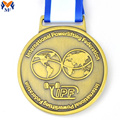 Custom die cast gold sports medal price