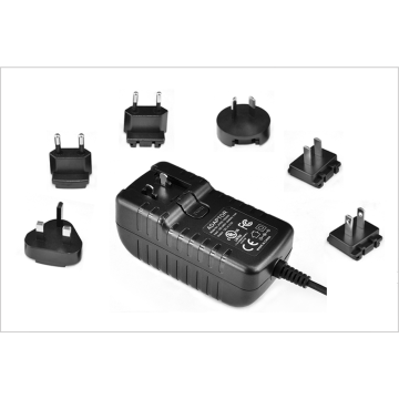 Interchangeable Power adaptor 36W 12V3A