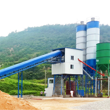 Fixed construction mini mix concrete batching plants