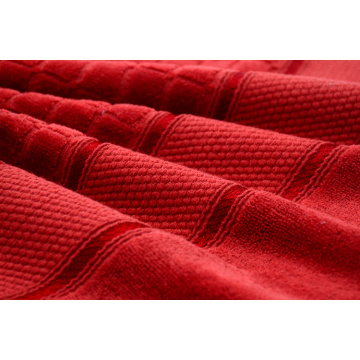 Highly Absorbent Fast Drying Bath Towels Jacquard Towel