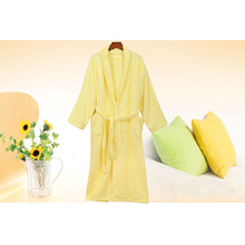 Fluffy Towel Bathrobe Long Shower Robe