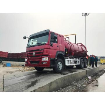 Howo 6×4 Sewage Suction Truck With Pump