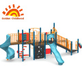 Simple Steel Slide Equipment For Children