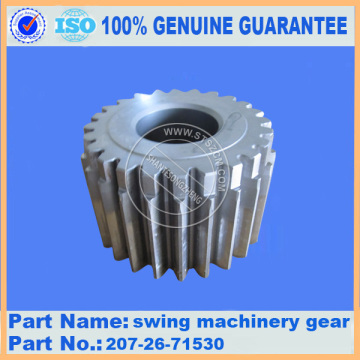 komatsu pc300-7 swing machinery gear assy 207-26-71530