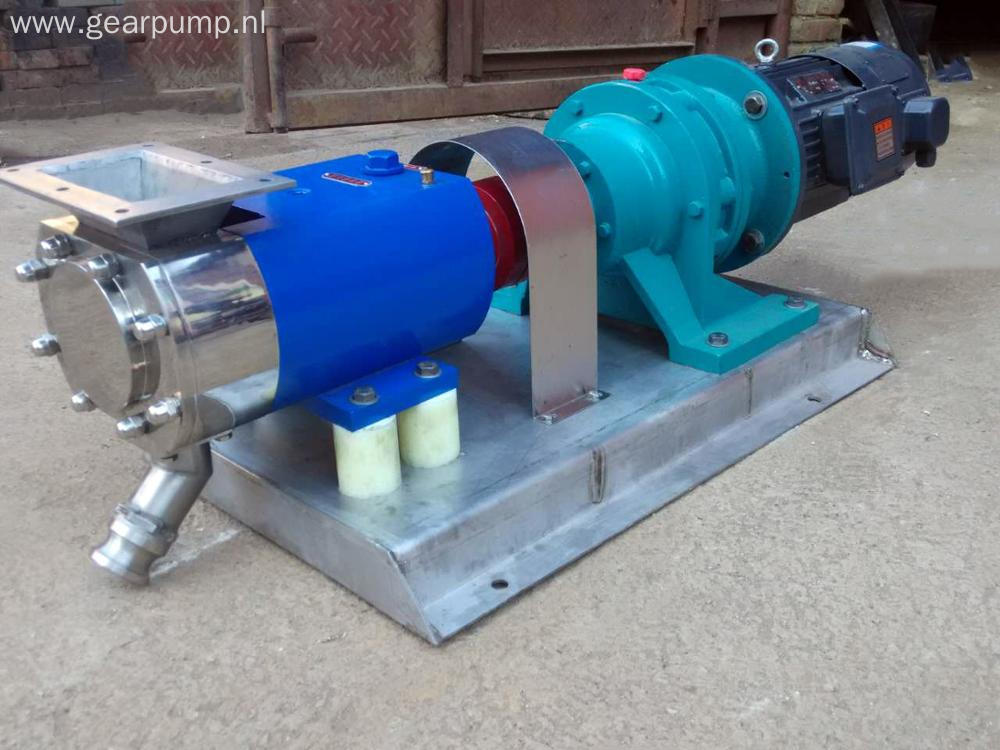 Stainless steel food grade pumps lobe rotor honey molasses pumps