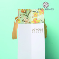 White paper handle bag for T-shirt packing
