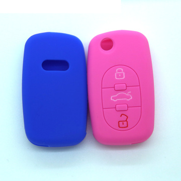 Audi A6 silicon car key cover