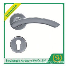 SZD SLH-036SS High Quality German Small Door Knob Lever Handle On Plate Rose