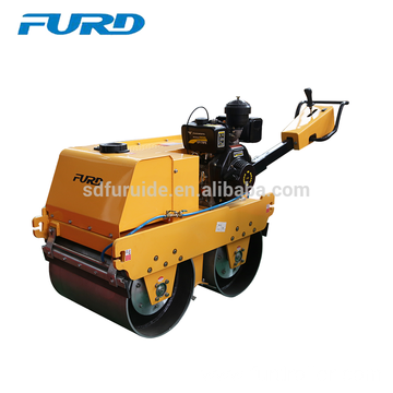 Hydrostatic Double Drum Small Hand Vibratory Roller (FYLJ-S600C)