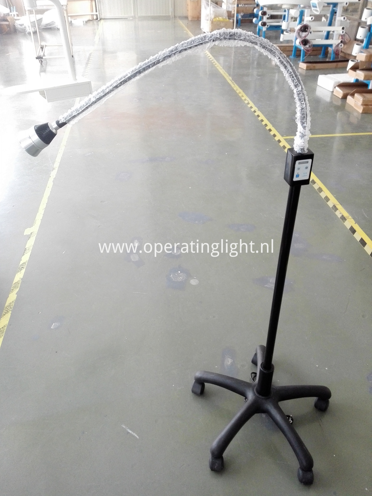 Neck adjustable examination light