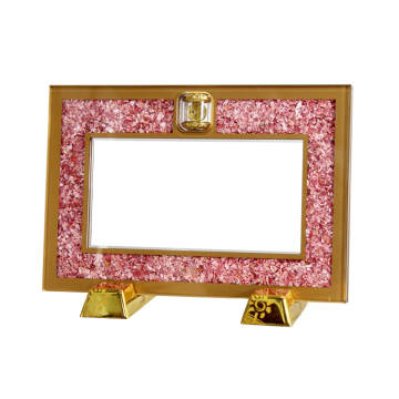 APEX Gold Acrylic Display Certificate Currency Frame Holder