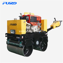 Walk Behind Manual Smooth Drum Asphalt Roller Compactor
