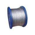 6X7+FC Dia.1.0mm to 10mm Galvanized steel cable