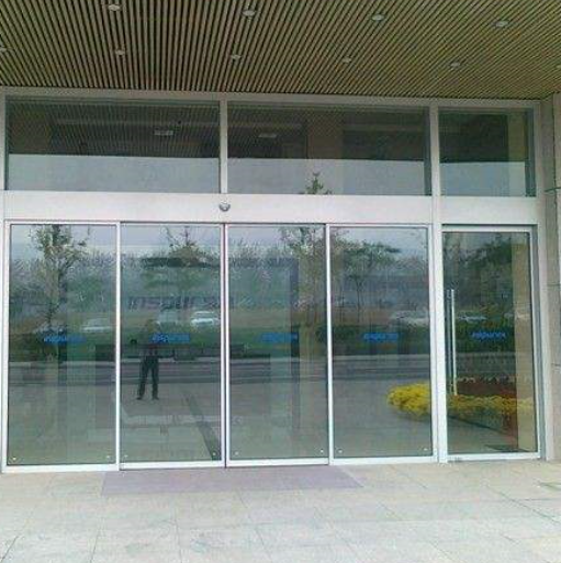 Slide Door Automatic Glass