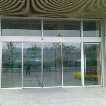 Aluminium frame slide automatic glass sensor door