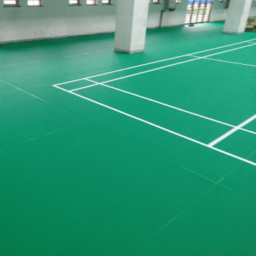 PVC badminton court floor badminton court