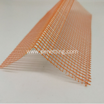 25x25mm PVC Corner Bead with Fiberglass Mesh