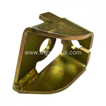 High Quality Yellow Zinc Plated Steel Cable Anchor Bracket
