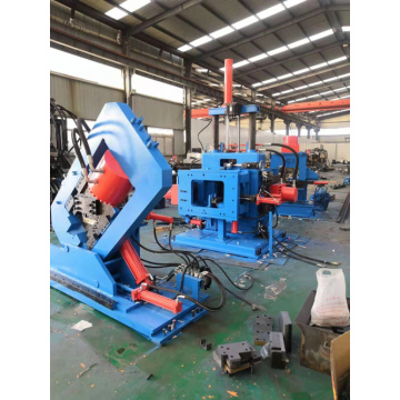 CNC Angle/Channel /Band Steel All-in-one Machine