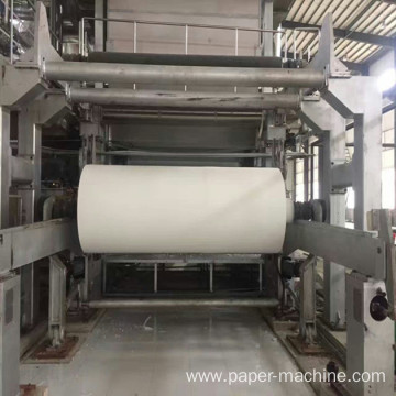 Straw Pulp Making Toilet Tissue Paper Making Machine