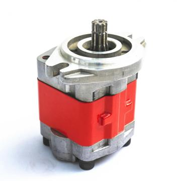 Walking excavator hydraulic external gear pump