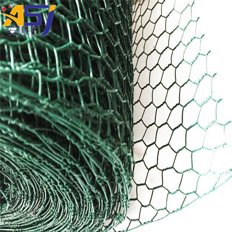 hexagonal wire netting chicken mesh in black