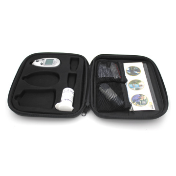 Best selling shockproof instrument storage tool case for medical glucometer