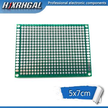 5pcs 5x7cm 5*7 Double Side Prototype PCB diy Universal Printed Circuit Board hjxrhgal