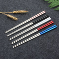 304 stainless steel cutlery korean spoon and chopsticks