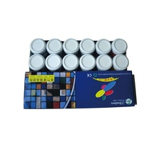 12 Colors Glass Paint Sets