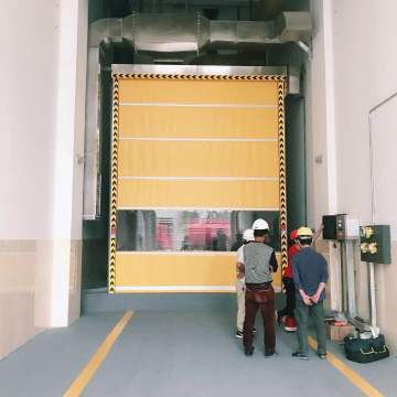 High Speed Rolling Shutter Internal Warehouse Door