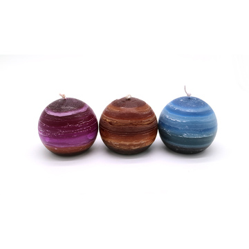 New Design Christmas Ball Candles