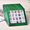 20pcs Natural Rock Mineral Specimen irregularity Raw Crystals Souvenir mini Mineral Stone Collection Ornament Gifts for Children