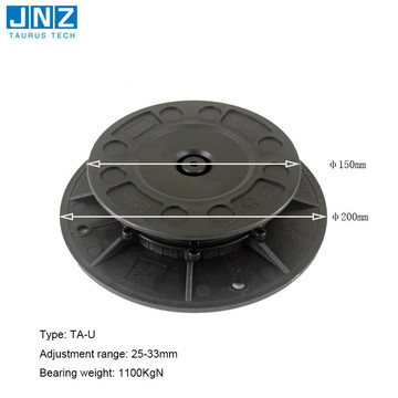 Adjustable Plastic Waterproof Raised tile Pedestal