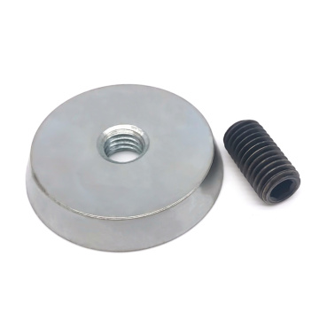 Super Neodymium Insert Magnet With M24 Thread Rods