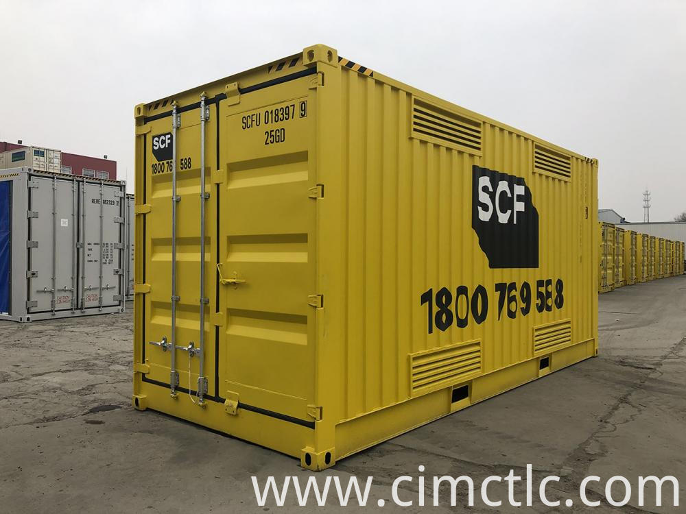 Sea Container for Hazardous