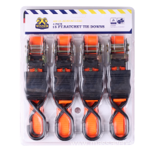 25MM Ratchet Tie Down with Blister Packaging