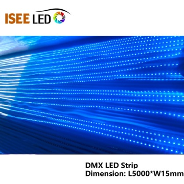 DMX512 RGB 5050 LED Tape Strip Light