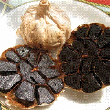 Dried Black Garlic With Anti Antioxidants