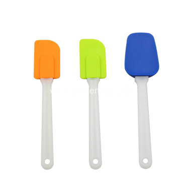 BPA Free 3-Piece Silicone Scraper Spatula For Baking