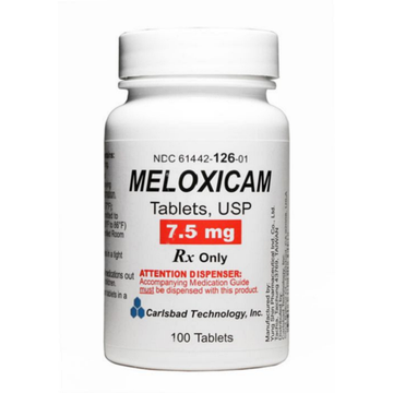 why is meloxicam prescription only