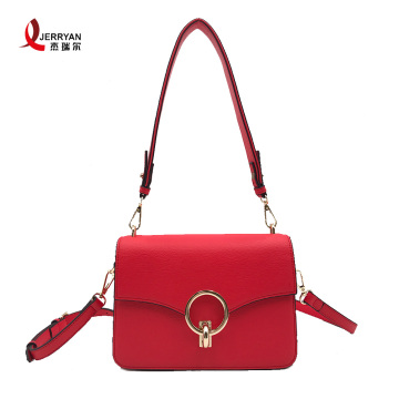Ladies Genuine Leather Large Satchel Shoulder Bag