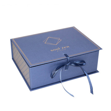 High-end Luxury Flat Foldable Magnetic Paper Gift Box