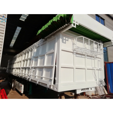 Gravel Sand Soil Construction Side Dump Trailer